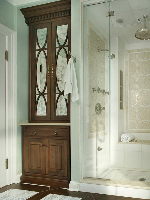 tile a bathroom shower shower stall next to linen closet houzz 20796