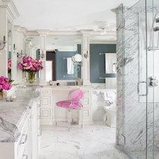 Traditional Bathroom by JONATHAN FRANC