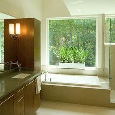 Modern Bathroom by Colangelo Associates Architects