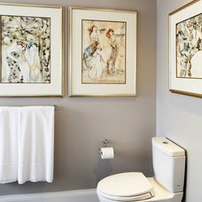 Traditional Bathroom by Sealy Design Inc.