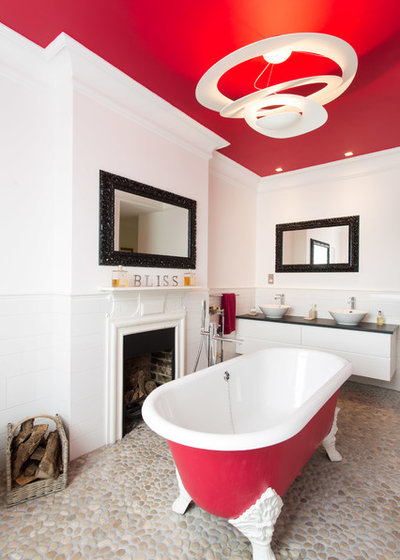 Contemporary Bathroom by Architect Your Home