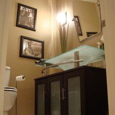 Contemporary Bathroom by Boss Constructors Inc.