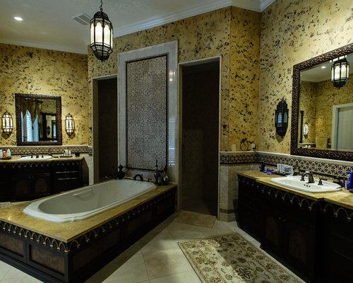 Green indian style bathroom design ideas renovations photos for Bathroom design indian style