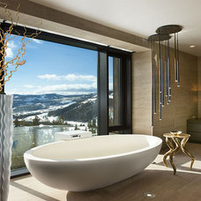 Contemporary Bathroom by Tyrrell and Laing International, Inc.