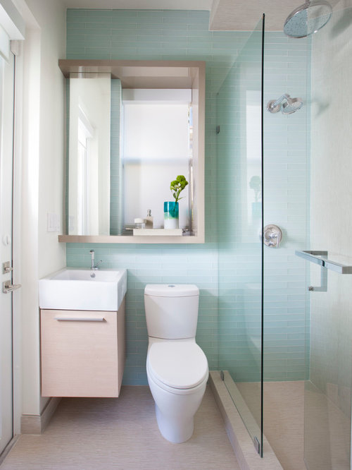 Small Bathroom With Walk In Shower Houzz
