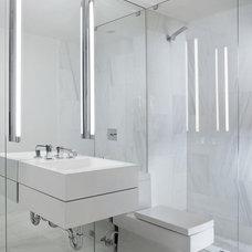 Modern Bathroom by Michael Dawkins Home