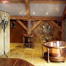 Eclectic Bathroom by Interior Design Arts