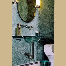Contemporary Bathroom by Camille Garro Interiors