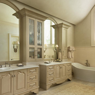 Extra Long Desk Table, 75 Beautiful French Country Master Bathroom Pictures Ideas November 2020 Houzz