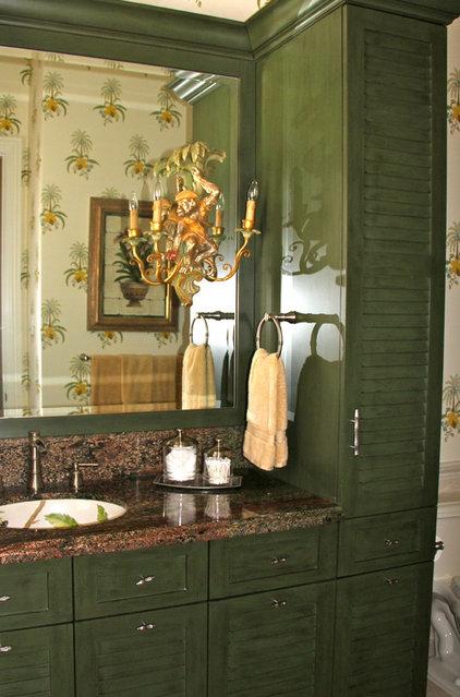 Mediterranean Bathroom by Edgewater Design LLC