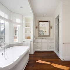 traditional bathroom by MB Jessee