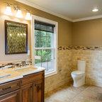 Harding Township Farmhouse Traditional Bathroom New