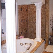 Traditional Bathroom by PHIL VALENCIA / VPI VALENCIA PAINTING INC.