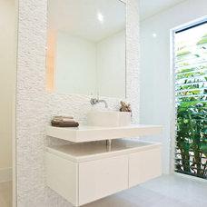 Contemporary Bathroom by SBT Designs
