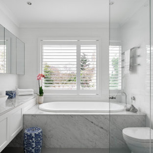 Photo of a transitional bathroom in Sydney.