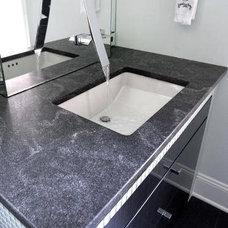 Contemporary Bathroom by Luck Stone Center