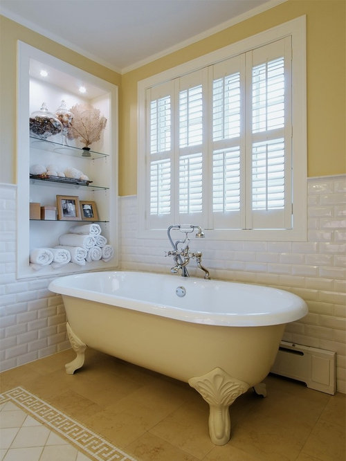Bathroom Decor With Yellow Walls : Plantations shutters bathroom design ideas renovations