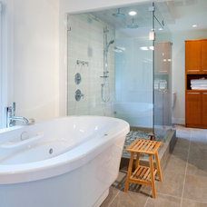 Modern Bathroom by Revival Arts | Architectural Photography