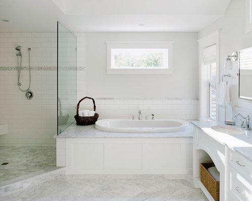 Marble Tub Surround Houzz