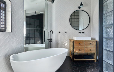 9 Tile Styles for Modern Bathrooms