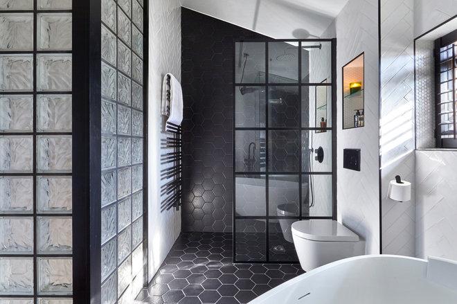 Contemporary Bathroom by Claudia Dorsch Interior Design Ltd