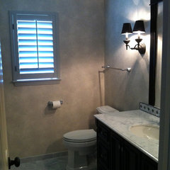 traditional bathroom by Interiors II By Mary Veltri