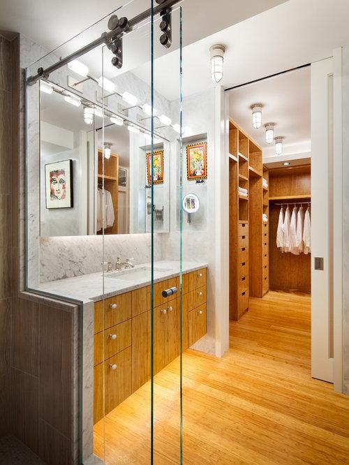 salle de bain avec un sol en bambou photos et id es d co. Black Bedroom Furniture Sets. Home Design Ideas
