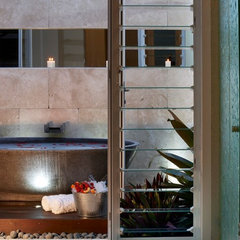 contemporary bathroom by Dean Herald-Rolling Stone Landscapes