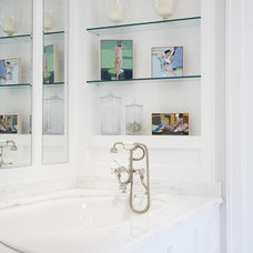 Transitional Bathroom by Blue Tangerine Art