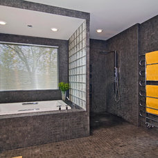 Contemporary Bathroom by Belle Design Build