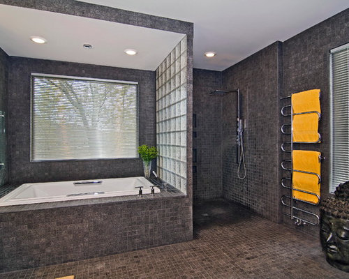 Zero threshold shower home design ideas renovations photos for Bathroom designs 3m x 2m