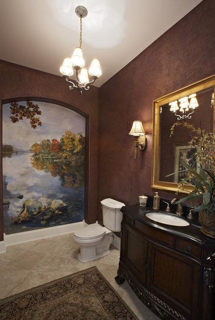 Mediterranean Bathroom by Celeste Jackson Interiors, Ltd.