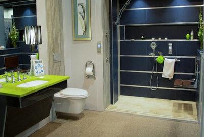 Simple Contemporary Bathroom by Invisia