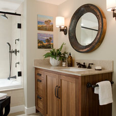 Contemporary Bathroom by Kristina Crestin Design