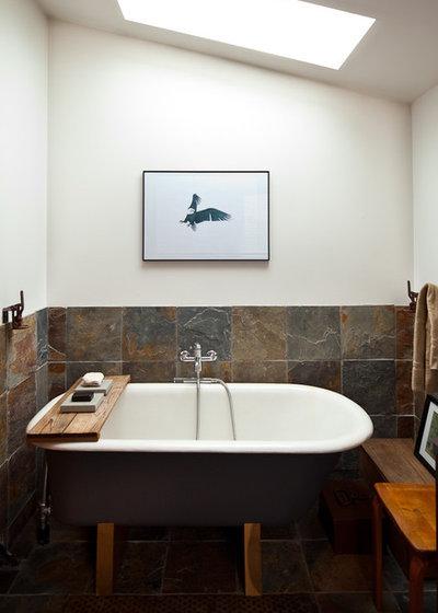 Eclectic Bathroom by Ira Lippke