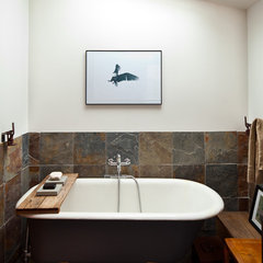 eclectic bathroom by Ira Lippke