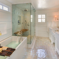 Traditional Bathroom by thea home inc