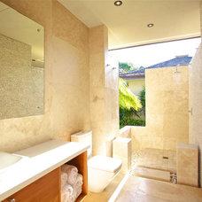 Contemporary Bathroom by Architects Kauai, Inc