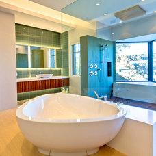 Contemporary Bathroom by Kendle Design Collaborative