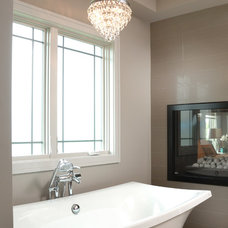 Transitional Bathroom by Windsor Windows & Doors