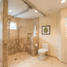 Traditional Bathroom by Sea Pointe Construction