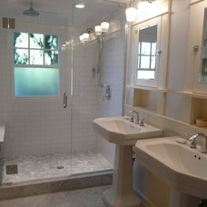 Traditional Bathroom by Complete Construction