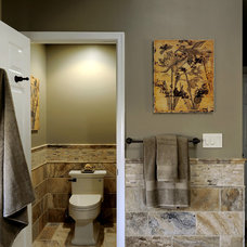 Traditional Bathroom by Davida's Kitchen & Tiles