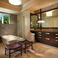Contemporary Bathroom by b+g design inc.