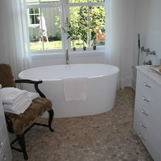 Modern Bathroom by Island Stone