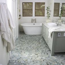 Modern Bathroom by Island Stone
