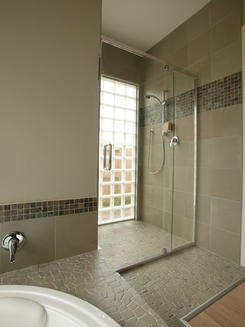 Sunken Shower Pan Houzz