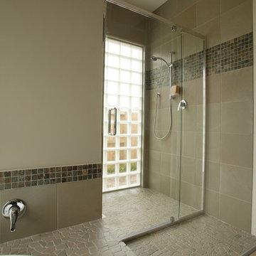 Island Stone random shower and bath Tile
