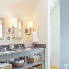 Traditional Bathroom by Linn Gresham Haute Decor