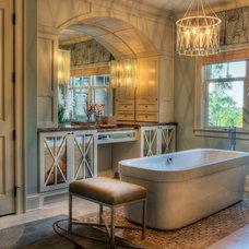 Traditional Bathroom by Haute Design